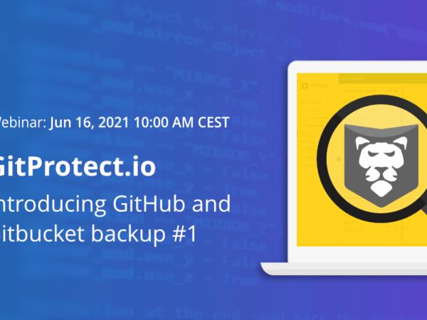 GitProtect live webinar