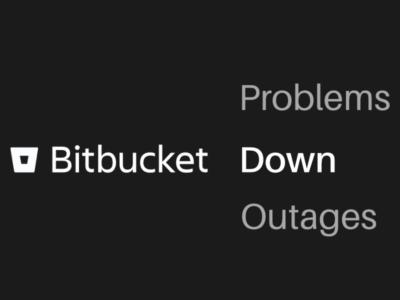 Bitbucket down